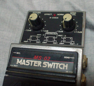 MAXON MS-02 MASTER SWITCH