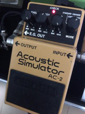 BOSS Acoustic Simulator AC-2