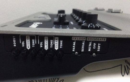 BluGuitar AMP1 - Part.4 Side Panel
