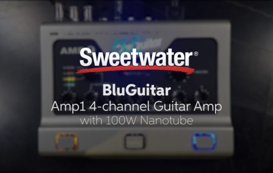 [BluGuitar] [Youtube] BluGuitar AMP1 Nanotube Amplifier and Add-ons Demo