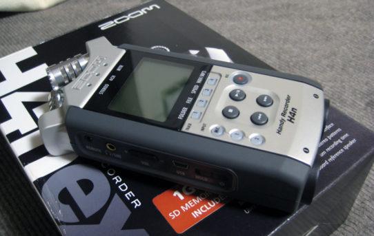 [Rec] ZOOM H4n Audio Recorder