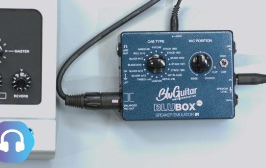 [ThomasBlug,BluGuitar] Speaker Emulator BluBox News