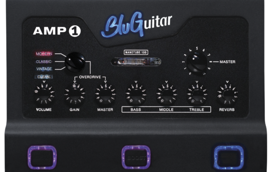 [NEWS] BluGuitar AMP1 Iridium Edition