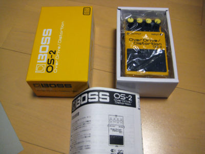 BOSS OverDrive / Distortion OS-2