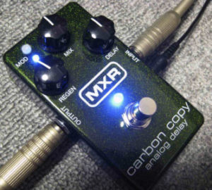 MXR carbon copy analog delay M-169