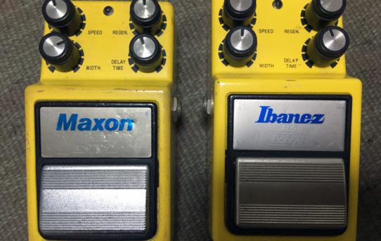 Maxon FL-9 Flanger vs Ibanez FL9 Flanger