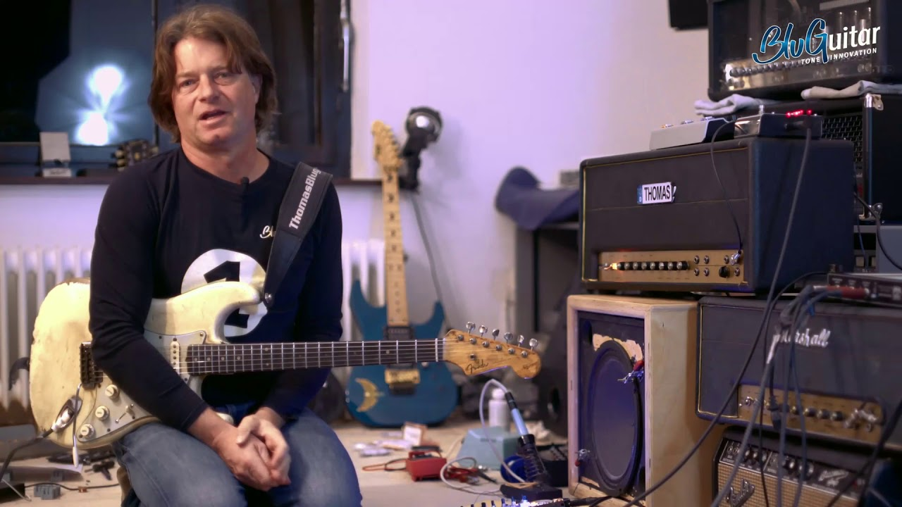 [Youtube] Making of: BluGuitar AMP1 Mercury Edition.